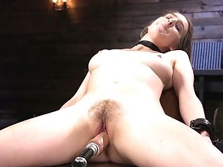 Painfull And Rough Torment And Manhandle For Cadence Lux In Tying
