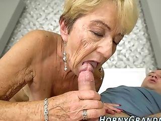 Underwear Granny Cummed