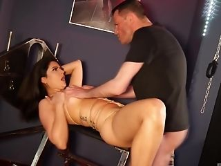 Unexperienced Tied Up Super-bitch Loves To Be Used As A Fucky-fucky Submissive And Tongues Jizz
