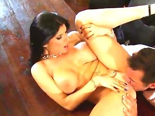 Powerful Frictions By Manager Give A Lot Of Pleasure To Romi Rain