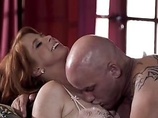 Bald Dude Stings Premium Woman With The Right Inches
