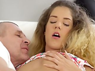 Daddy4k. Nasty Dad Unexpectedly Entices Son-in-law's Fresh Youthfull Gf