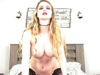 Glamour Long-legged Teenager Bunny Colby Solo Session
