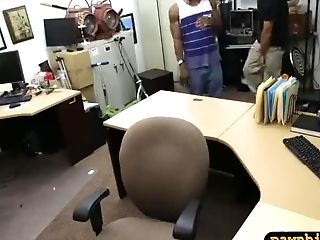 Black Bf Let The Pawn Man Fuck Her Nymph While Hes Filming It
