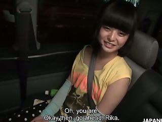 Asian Pervert Makes Use Of Vibro To Satiate Pretty Chick Rika Shimazaki
