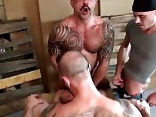 Sean Duran Gogo Gang-bang Fag Romp