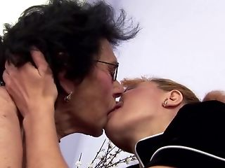 Old Granny Piss On And Fucks Matures Mommy