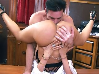 Luna Starlet's Asshole Is So Delicious That He Just Can't Get Enough
