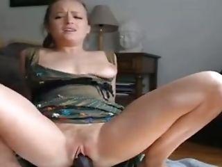 Web Cam Chick Railing Black Rubber Man Meat