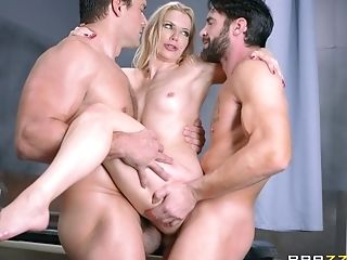 Dual Invasion Session Is All Nasty Blonde Ashley Fires Thirsts