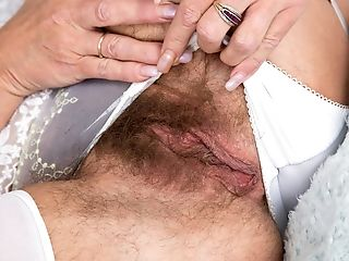 Fur Covered Honeypot On A Needy Matures Lady