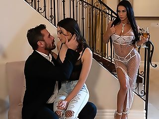 free hot lingerie threesomes porn vids