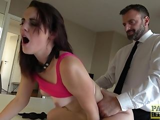 Blinded Gf Elena Vega Tied Up And Rough Face Fucked