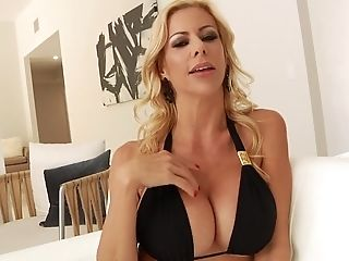 Alexis Fawx Took Off Swimsuit In Interracial Act