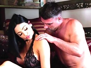 Big-tittied Ultra-cutie With Brown-haired Hair Likes Fuck-a-thon With Toni Ribas