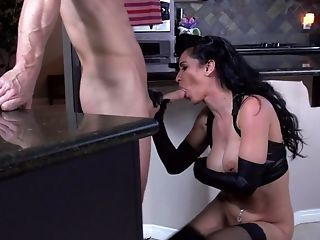 Hotwife Porno Scene By Incredible Mistress And Bald Paramour